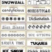 Ücretsiz Yeni Yıl Fontları