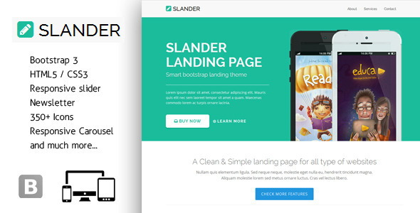 6-FeedApp – Landing Page Template