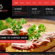wordpress restoran teması